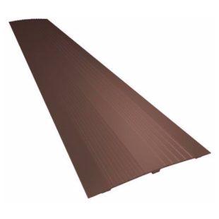 GR100108 8020.100.12 drempel vervanger 14 cm bruin