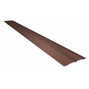 GR100110 8020.100.02 drempel vervanger 11 cm breed bruin