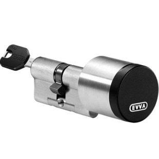 GR20016 Evva Airkey hybride cilinder nikkel 5 mm deur