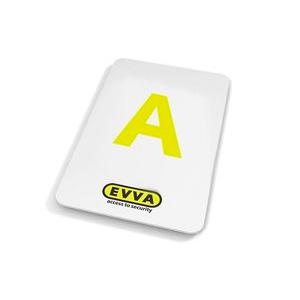 GR20091 Evva key card 5 stuks