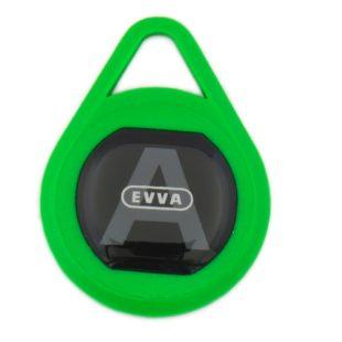 GR20096 Evva key sleutelhanger groen
