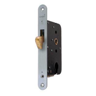GR400019 1134P mauer cilinder schuifdeurslot rvs voorplaat