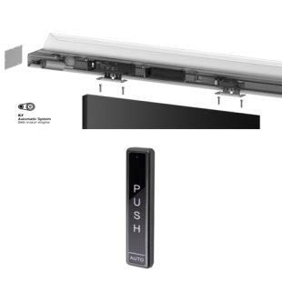 GR300003 schuifdeur rail 2000 mm K7 met IN.15-732
