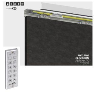 GR300016 schuifdeurrail 2000 mm Mecano Electron cijfercode paneel