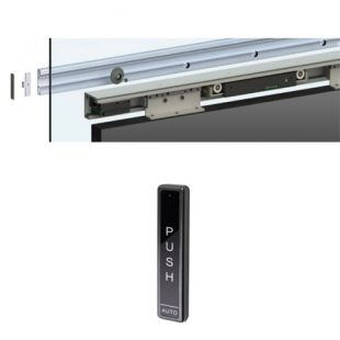 GR300023 schuifdeurrail 2000 mm Linear polaris met afstandbediening
