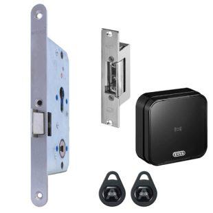 GR300036 Comfortslot electrische sluitplaat wandlezer links