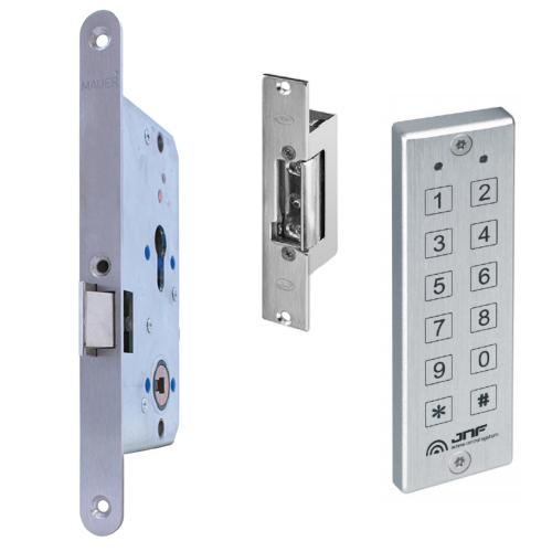 GR300038 Comfortslot electrische sluitplaat cijfercode tableau links