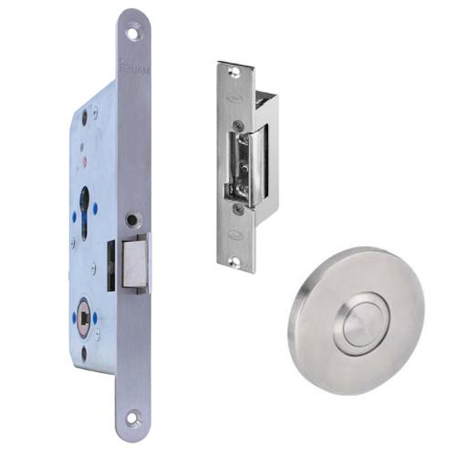 GR300039 Comfortslot electrische sluitplaat drukknop rechts