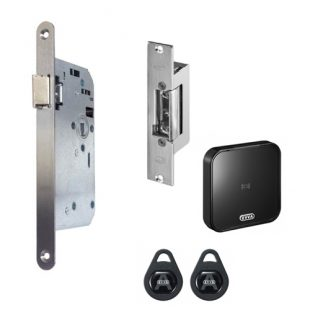 GR300042 projectslot electrische sluitplaat wandlezer links