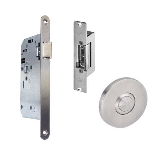 GR300047 projectslot electrische sluitplaat drukknop rechts