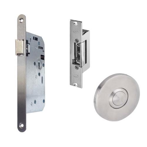 GR300048 projectslot electrische sluitplaat drukknop links