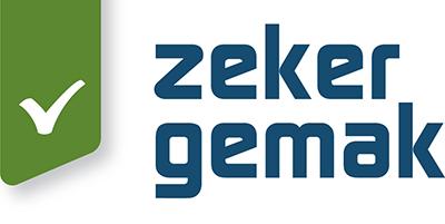 Logo - Zeker Gemak - Zeker veilig - Zeker sterk - Zeker gemak - Zeker hygiene
